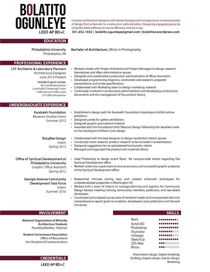 Bolatito Ogunleye Resume